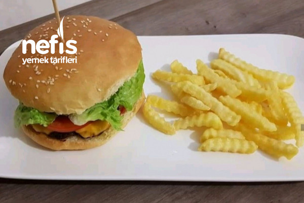 Her Şeyi İle Ev Yapımı Hamburger Tarifi