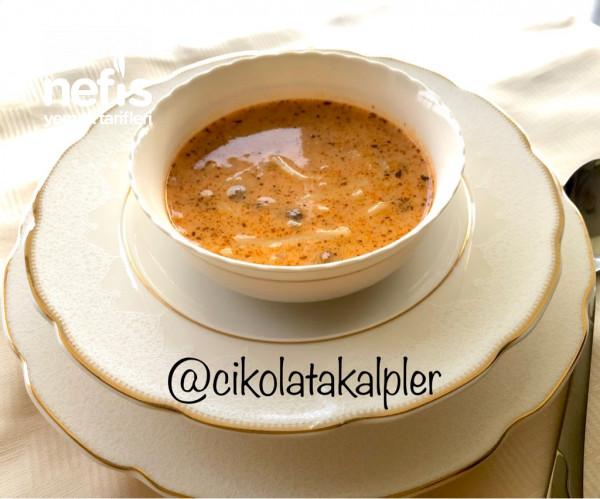 Köfteli Erişteli Çorba