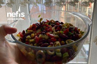 Meksika Salatası(En Kolay Pratik) Tarifi