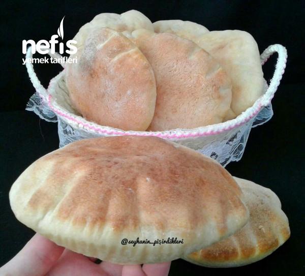 Pita Ekmeği  (balon gibi kabaran )