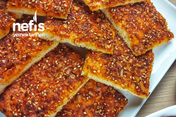 Tepside Çok Pratik Biberli Ekmek Tarifi