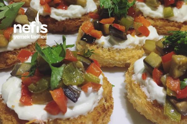 Tost Ekmeğinden Muhteşem Atıştırmalıklar Tarifi