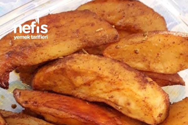 Baharatlı Elma Dilim Fırın Patates Tarifi