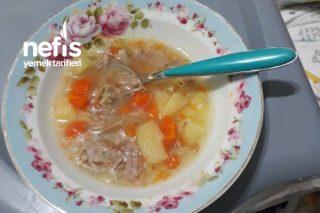 Bebek Sebzeli Gerdan Çorbası +8 Tarifi