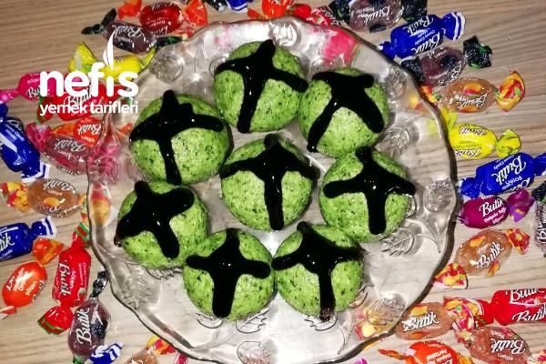 Çikolata Ve Fıstıklı Bonbonlar Tarifi