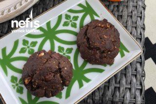 Çikolatalı Fındıklı Fit Kurabiye Tarifi