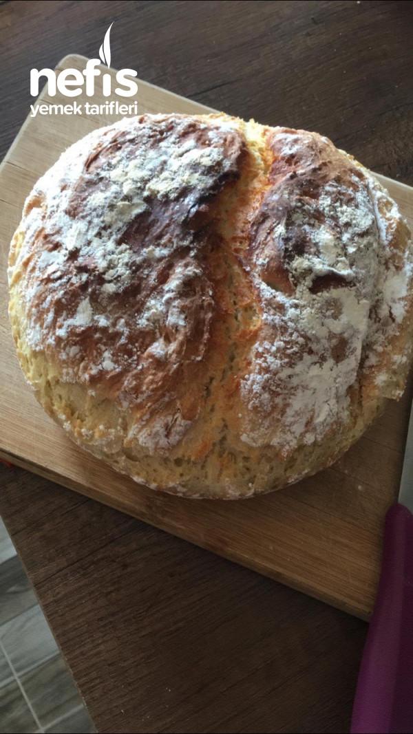Döküm Tencerede Kolay Ekmek