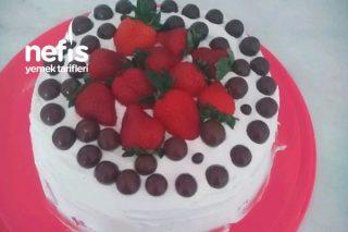 Hazır Kekten Hemen Pasta Tarifi