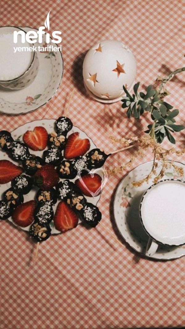 Muzlu Çikolata Çubukları