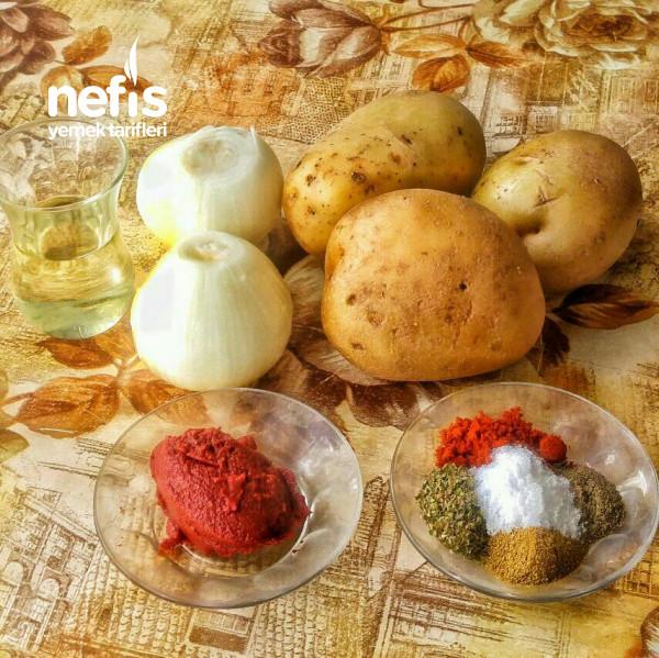 Patatesli ve Soğanlı Kömbe