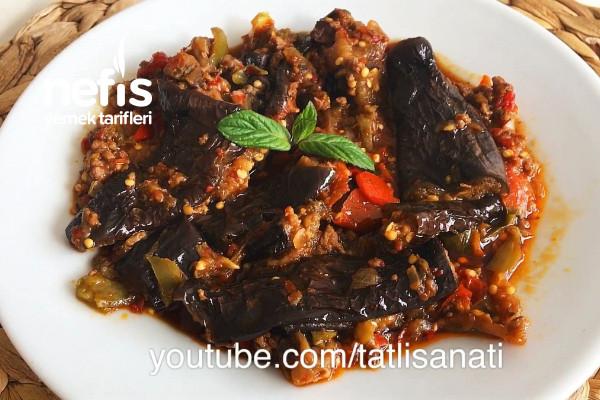 Patlıcan Kavurma Tarifi (Sac Tavada) (Video)