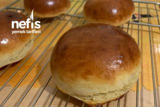 Sünger Gibi Yumuşak Hamburger Ekmeği Tarifi