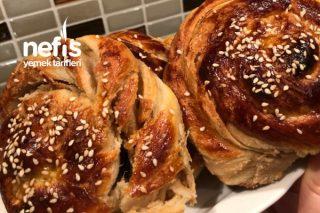 Tel Tel Ayrılan Nefis Tahinli Çörek Tarifi