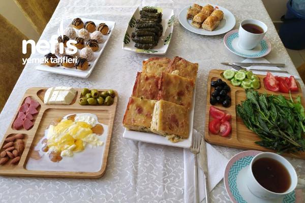 Bayram Kahvaltısı Tarifi