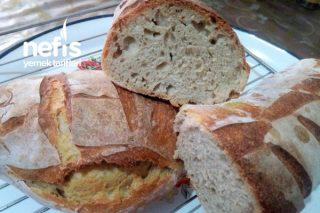 Ekşi Mayalı Rustik Ekmek (Tüm Püf Noktalarıyla) Tarifi
