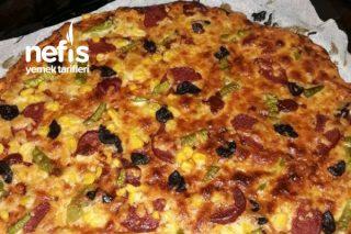Fırında Pizza Tarifi