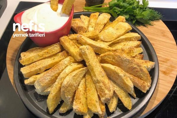 Fıtında Çıtır Patates Tarifi