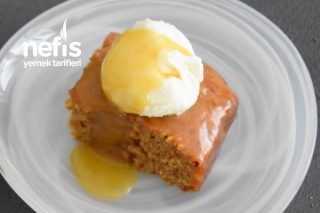 Hurmalı Sticky Toffee Pudding (Videolu) Tarifi