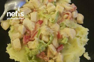 Patates Püresinde Kremalı Tavuk Tarifi