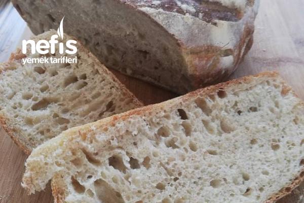 Ekşi Mayalı Ekmek (Dolabınızda Ekşi Mayanız Hazır İse Mutlaka Bu Ekmeği Yapmalısınız) Tarifi