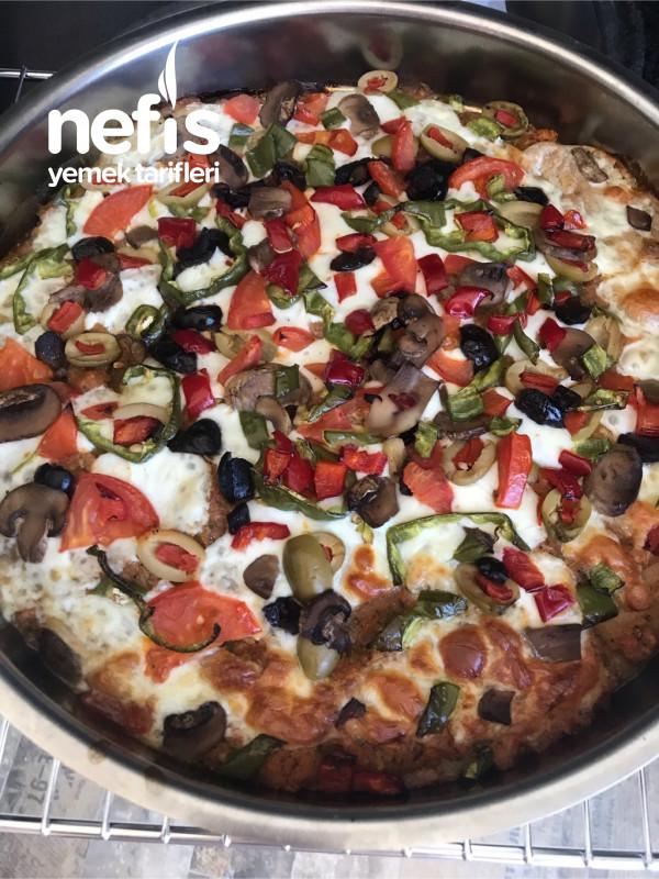 Hafif İnce Tabanlı Pizza (Fit)