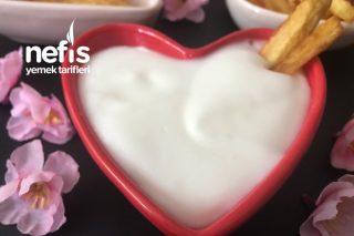 5 Dakikada Yumurtasız Sarımsaklı Mayonez Tarifi