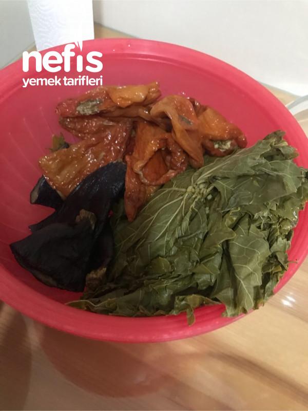 Karışık (Kuru Patlıcan,Kuru Biber,Yaprak) Dolma