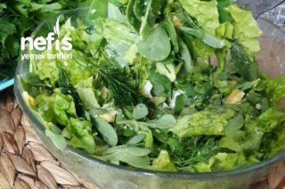 Semizlik Salatası (Sabah Kahvaltılarında Harika) Tarifi