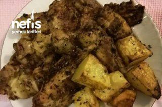 Tavuk Pirzola (Patates Eşliğinde) Tarifi