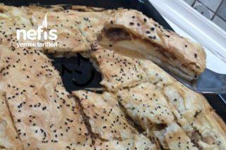Yufkadan Börek Çeşitleri (kıymalı-peynirli) Tarifi