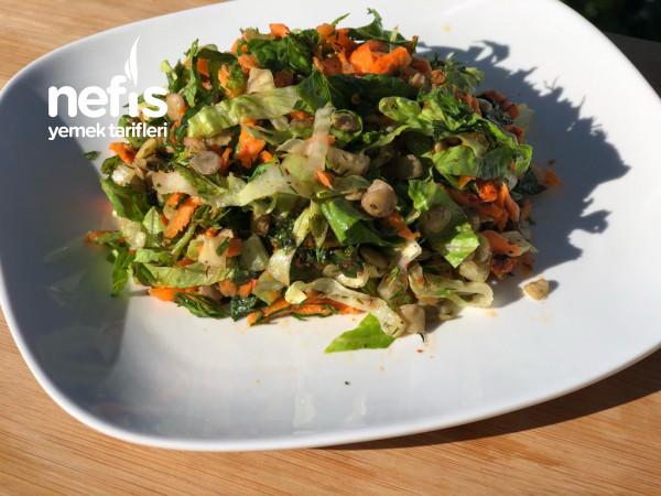 Doyurucu Diyet Yeşil Mercimek Salatam