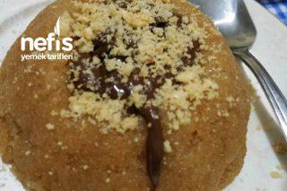 Enfes Fındık Ezmeli Çikolatalı İrmik Helvası Tarifi