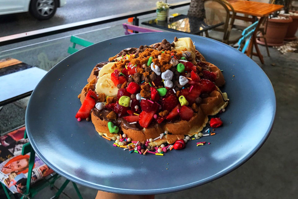 waffle port