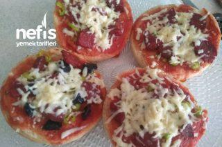 Kahvaltıya Pratik Lezzetli Pizza Tarifi