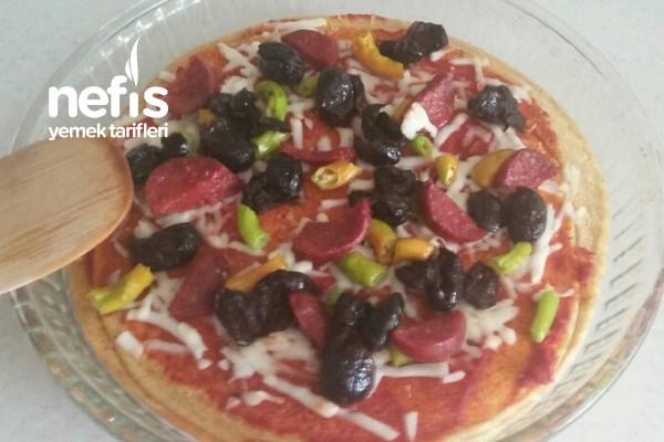 Kırmızı Mercimek Tabanlı Pizza Tarifi