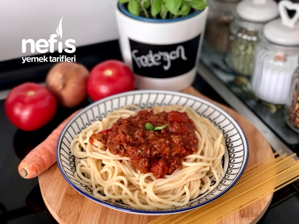 Orijinal Bolonez Soslu Spagetti
