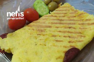 Patates Tost (Sucuklu) Tarifi