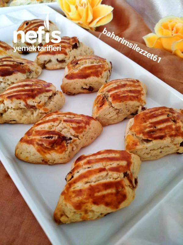 Üzümlü Pastane Kurabiyesi mis Kokulu Hazır Gibi