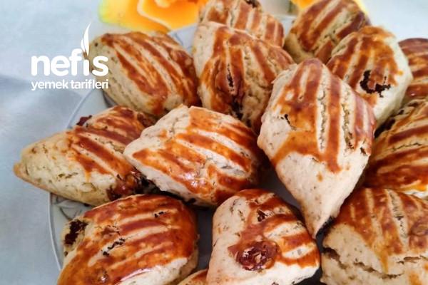 Üzümlü Pastane Kurabiyesi Mis Kokulu Hazır Gibi Tarifi