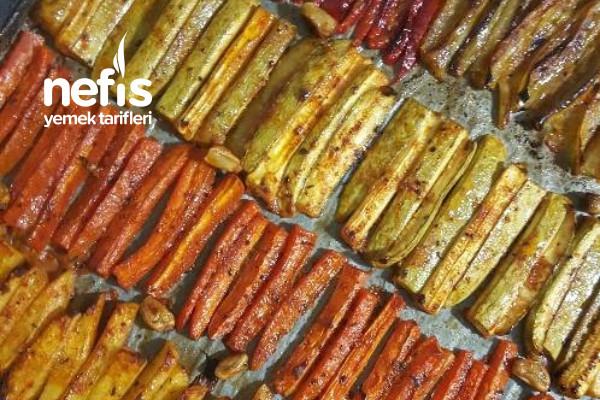 Vejeteryan Kebabı (Sebze Kebabı) Tarifi