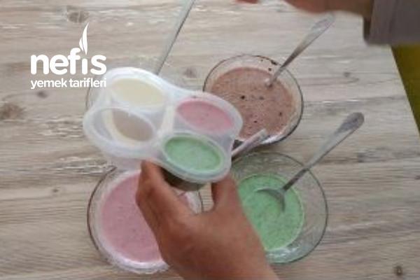 3 Ana Malzeme İle 4 Farklı Dondurma Tarifi