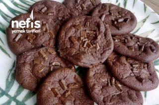 Çikolatalı Az Kalorili Kurabiye Tarifi