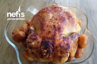 Düdüklü Tencerede Tamamen Susuz Olarak Pişen Tavuk Tandır Tarifi