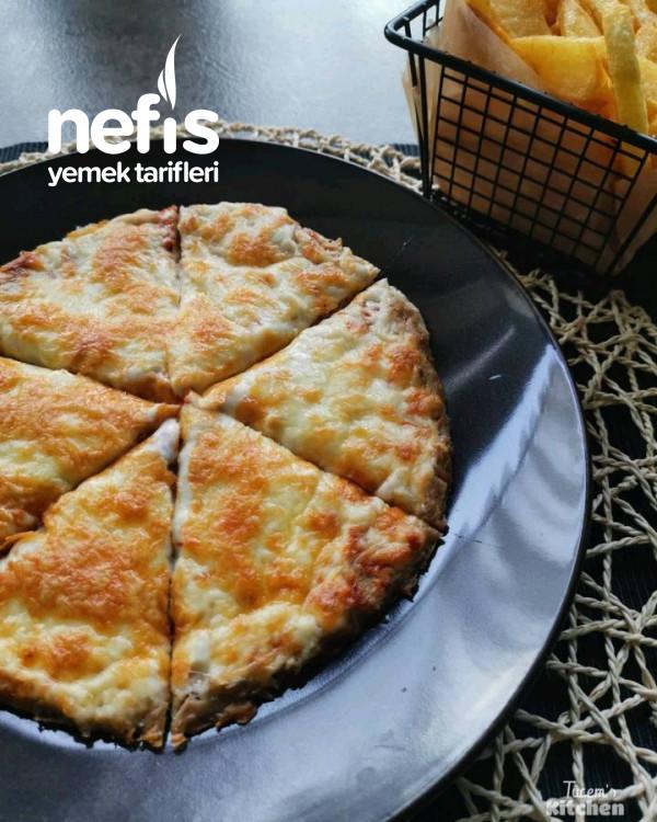 Hamursuz Ton Balıklı Pizza 5dk