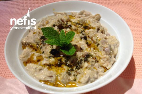 Lübnan Mutfağından Mutabbal Tarifi