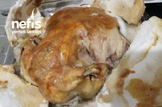Tuzda Tavuk Tarifi