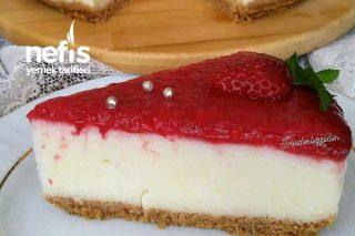 Çilekli İrmik Pastası Tarifi