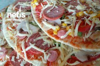 Dondurulmuş Pizza (Derin Donduru İçin) Tarifi