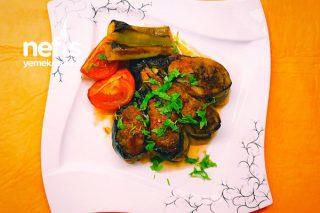 Papatya Patlıcan Kebabı Tarifi