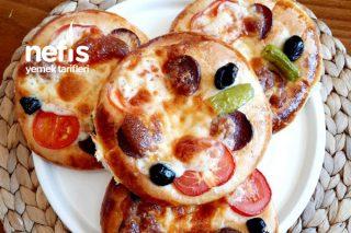 Pufuduk Pizza (Pastane Pizzasına Rakip) Tarifi